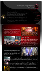 My Newsletter Builder Examples For Music Email Marketing - Custom newsletter template