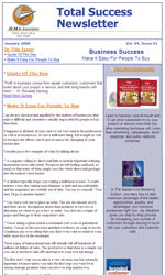 Consultants Email Newsletter Template for Email Marketing