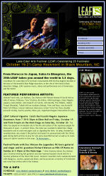 Music Email Newsletter Template for Email Marketing