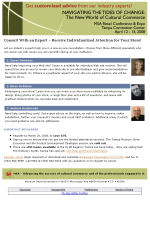 Museums/Galleries Email Newsletter Template for Email Marketing