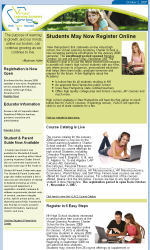 Education Email Newsletter Template for Email Marketing