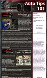 Automotive News Email Newsletter Template for Email Marketing