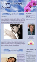 Hypnotherapy Email Newsletter Template for Email Marketing