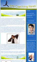 My Newsletter Builder | Examples for Life Coach Email ...