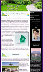 Home & Garden Email Newsletter Template for Email Marketing
