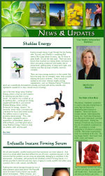 Email Newsletter for Shaklee Email Newsletter Template for Email ...