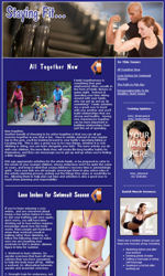 My Newsletter Builder | Examples for Fitness Email ...