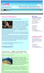 Health & Wellbeing Email Newsletter Template for Email Marketing