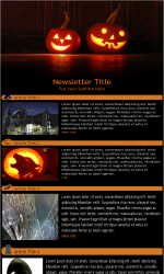 My newsletter builder examples for holiday templates email halloween email newsletter template for email marketing pronofoot35fo Images