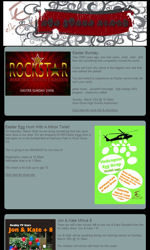 Basic Layout 8 Email Newsletter Template for Email Marketing