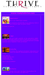 Basic Layout 2 Email Newsletter Template for Email Marketing