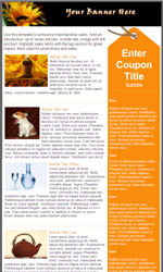 My Newsletter Builder Examples For Couponpromotional Templates - Promotional email template
