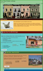 Real Estate 2 Email Newsletter Template for Email Marketing