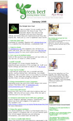 Side Image Email Newsletter Template for Email Marketing