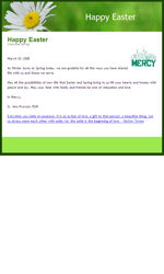 Spring Basic Email Newsletter Template for Email Marketing