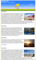 My Newsletter Builder Examples For Seasonal Templates Email - Summer newsletter template