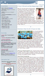 my newsletter builder examples for non profit templates email