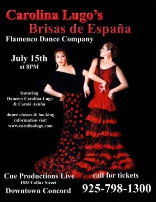 Carolina Lugo Flamenco Show