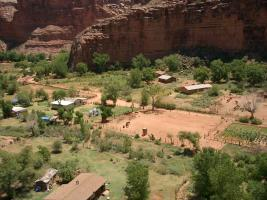 Aerial View of Supai Village